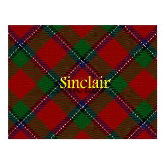 Clan escocés Sinclair Postales