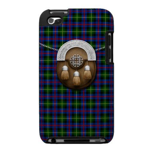 Clan Farquharson Tartan And Sporran iPod Touch 4g Cases