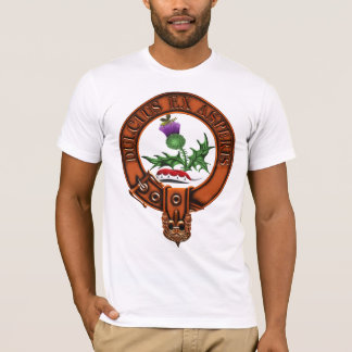 Clan Fergusson Family Crest and Targe T-Shirt