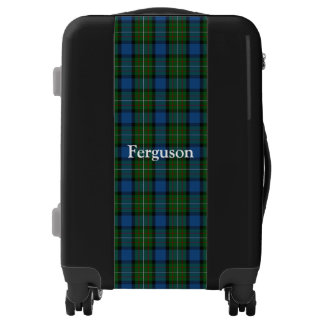 Clan Fergusson Ferguson Tartan Customize Your Name Luggage