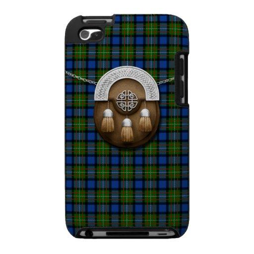 Clan Fergusson Tartan And Sporran iPod Touch Cases
