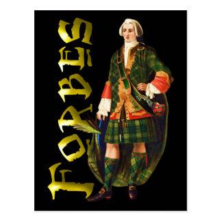 Clan Forbes Highland Dream Postcard