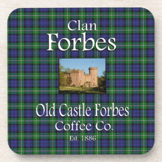 Clan Forbes Old Castle Forbes Coffee Co. Coaster