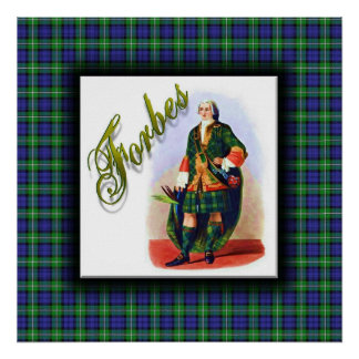 Clan Forbes Scottish Dream Poster
