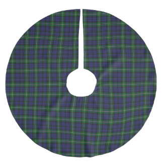 Clan Forbes Tartan Plaid Tree Skirt