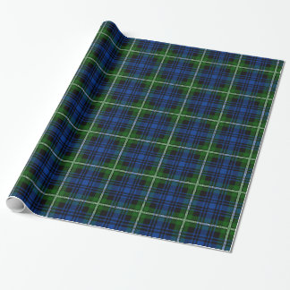 Clan Forbes Tartan Gift Wrapping Paper