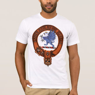Clan Forsyth Family Crest and Targe T-Shirt