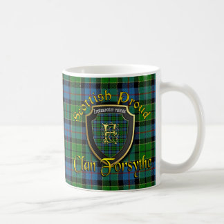 Clan Forsythe Scottish Proud Cups Mugs