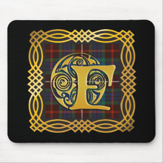 Clan Fraser Ancient Tartan Mouse Pad