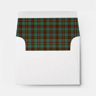 Clan Fraser Hunting Tartan Envelope