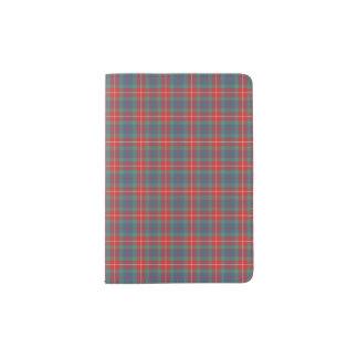 Clan Fraser of Lovat Ancient Tartan Passport Holder