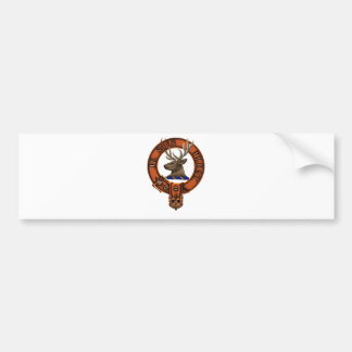 Clan Fraser of Lovat Car Bumper Sticker