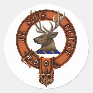 Clan Fraser of Lovat Classic Round Sticker