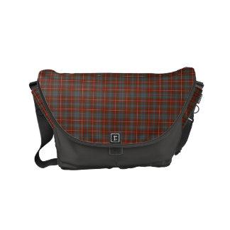 Clan Fraser of Lovat Weathered Tartan Small Messenger Bag