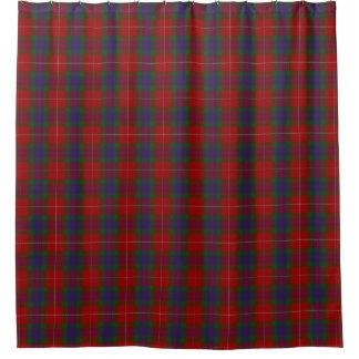 Clan Fraser Scottish Heritage Tartan Shower Curtain