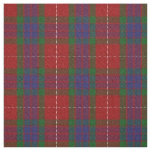 Clan Fraser Scottish Tartan Plaid Fabric