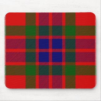 Clan Fraser Tartan Mouse Pad