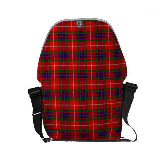Clan Fraser Tartan Small Messenger Bag