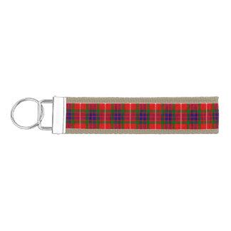 Clan Fraser Tartan Wrist Keychain