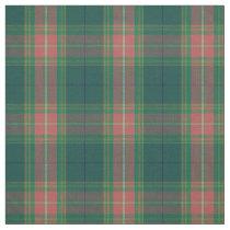 Clan Gallagher Irish Tartan Plaid Fabric
