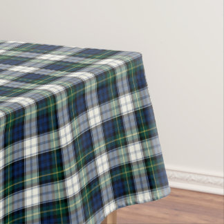 Clan Gordon Blue, Green, And White Dress Tartan Tablecloth