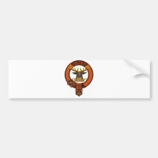 Clan Gordon Coat of Arms/ Clan family crest Bumper Sticker