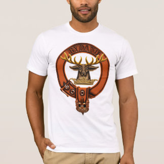 Clan Gordon Family Crest and Targe T-Shirt