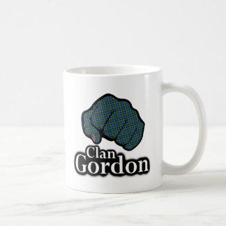 Clan Gordon Scotland Proud Tartan Fist Coffee Mug