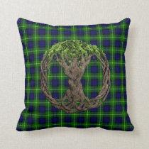 Clan Gordon Tartan And Celtic Tree Of Life