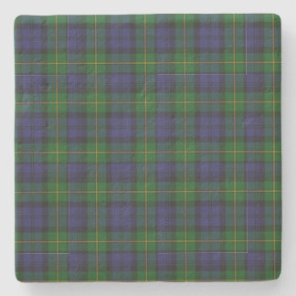 Clan Gordon Tartan Plaid Stone Coaster