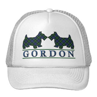 Clan Gordon Tartan Scottie Dogs Trucker Hat