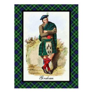 Clan Graham Scottish Dreams Postcard