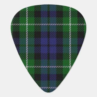 Clan Graham Sounds of Scotland Tartan Guitar Pick