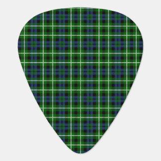 Clan Graham Tartan Guitar Pick