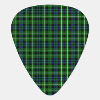 Clan Graham Tartan Guitar Pick by thecelticflame at Zazzle