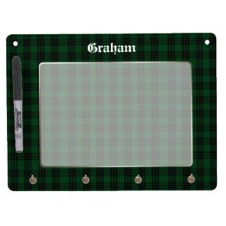 Clan Graham Tartan Plaid Custom Dry Erase Board