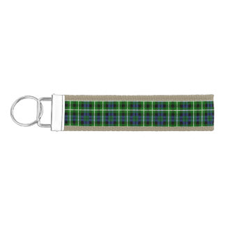 Clan Graham Tartan Wrist Keychain