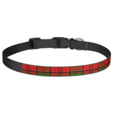 Clan Grant Tartan Pet Collar