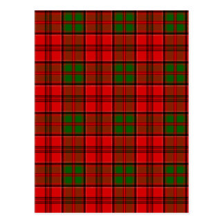 Clan Grant Tartan Postcard