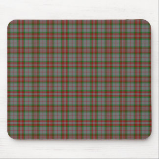 Clan Gray Tartan Mouse Pad