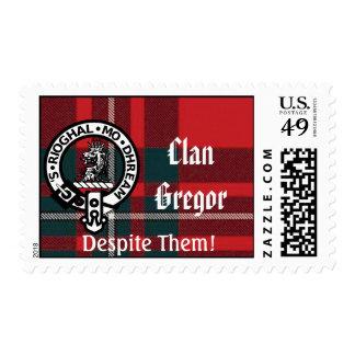 Clan Gregor Despite Them Postage Stamps