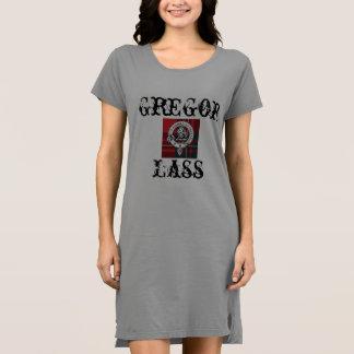 Clan Gregor Lass Women's Tee Dress