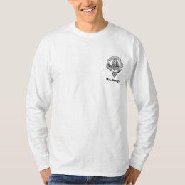 Clan Gregor Poem on Back Crest Pocket T-Shirt