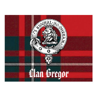 Clan Gregor Postcards