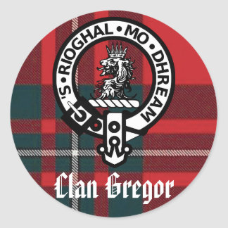 Clan Gregor Stickers