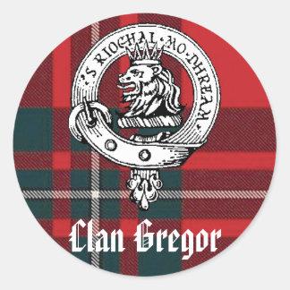 Clan Gregor Stickers