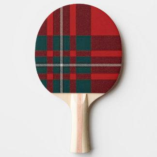 Clan Gregor/tartán del cojín del ping-pong de Pala De Tenis De Mesa