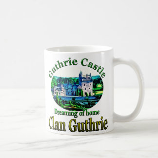 Clan Guthrie Dreaming of Home Guthrie Castle Coffee Mug