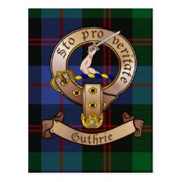 Clan Guthrie Postcards