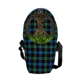 Clan Guthrie Tartan And Celtic Tree Of Life Messenger Bag